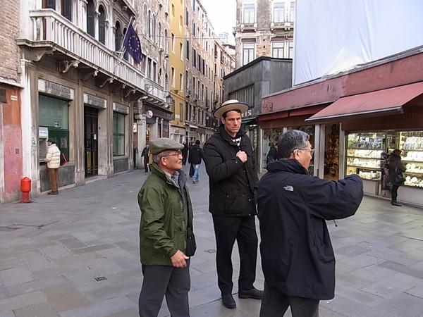 Venice_gondorier